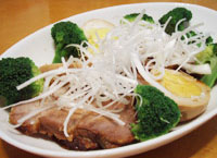 玄米元氣を使って豪快豚肉料理