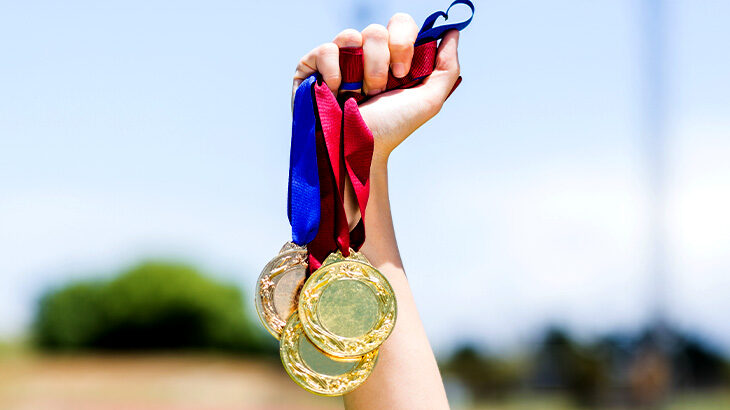 「人生の金メダルを目指して」